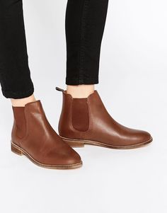 ASOS AIRBOUND Leather Chelsea Ankle Boots