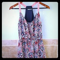 Sorting dress! Adorable dress, never worn. Perfect for spring and summer! Maurices Dresses High Low
