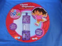 Nick Jr Kids Furniture  Dora The Explorer Closet Organizer with 3 shelves