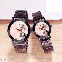 Checkout this latest Watches Product Name: *Trendy Couple Watches  * Strap Material: Stainless Steel Display Type: Analogue Size: Free Size Multipack: 2 Country of Origin: India Easy Returns Available In Case Of Any Issue   Catalog Rating: ★4.2 (7454)  Catalog Name: Trendy Couple Watches CatalogID_712818 C72-SC1087 Code: 492-4877365-666