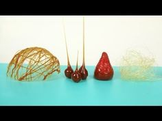▶ CARAMEL DECORATION- HOW TO MAKE SUGAR CAGE, CARAMELIZED NUTS AND PULLED SUGAR - YouTube dry caramel method!!