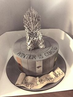 Game Of Thrones Cake Diy Birthday Cakes For Men Decorating