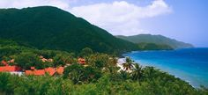 Renaissance St. Croix Carambola Beach Resort & Spa located in the U.S. Virgin Islands at the foothills of a rainforest nestled on white sand beaches of St. Crox.