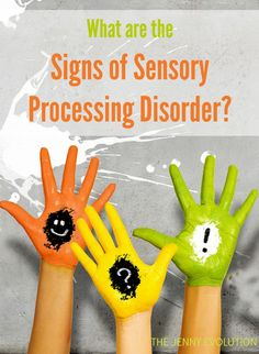 What Are The Signs of Sensory Processing Disorder? Repinned by SOS Inc. Resources pinterest.com/sostherapy/.