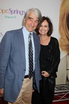 NEW YORK, NY - August 6, 2012: Sam Waterston with guest at the Premiere for Columbia Pictures' HOPE SPRINGS at the School of Visual Arts Theatre. © 2012 Columbia TriStar Marketing Group, Inc. All Rights Reserved.