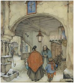 Christmas Tree - Anton Pieck