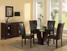 Mesas de Cristal para Salon Comedor - Para Más Información Ingresa en: http://decoraciondesala.com/mesas-de-cristal-para-salon-comedor/