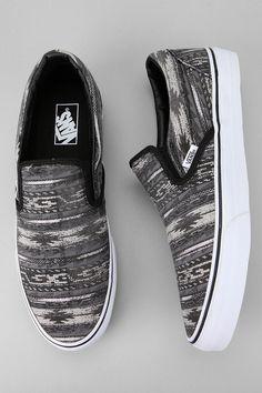 Vans Van Doren Slip-On Stripe Sneaker #UrbanOutfitters