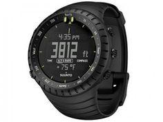 Relógio Outdoor Suunto Core All Black - Resistente à Água Alarme Cronômetro Altímetro