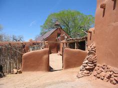 El Rancho de Las Golondrinas-a living history museum near Santa Fe
