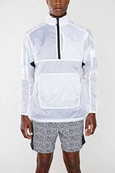 Transparent Onion Skin Windbreaker Jacket by Urban Outfitters