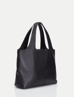 Halston Heritage Tina Large Open Soft Tote - Black 63be2523d7d61