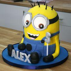 3D Minion Cake Tutorial (Part 2)   Despicable Me Cake Ideas