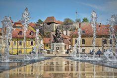 Eger... vár és a főtér Danube River, Medieval Castle, Central Europe, Budapest, Croatia, Countryside, City, Places, Travel