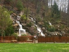 Cozy 1 bedroom Luxary Cabin in Smokey Mountains ; Smokey Mountain Cabins, Smoky Mountains Tennessee, Pigeon Forge, Cabin Rentals, Ideal Home, Scenery, New Homes, Backyard, Explore