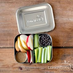 Kids LOVE to gobble up fresh, nutritious snacks when they're packed in school-cool LunchBots. All stainless, sustainable, nontoxic, and built to last a lifetime. Clean Eating Snacks, Healthy Eating, Clean Recipes, Healthy Recipes, Healthy Lunches For Work, Nutritious Snacks, Food Goals, Healthy Protein, Vegan