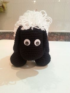 mi ovejita negra de frente