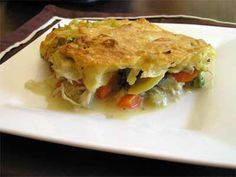 Chicken Pot Pie -- switch out butter for Smart Balance, and no sour cream needed.