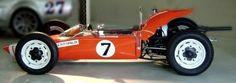 Emerson Fittipaldi foi Campeão Brasileiro em 1967 com esse Fitti Vêe