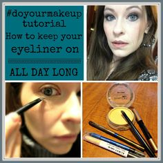 Tutorial: 2 simple tricks - How to keeo your eyeliner on ALL DAY. Beauty 101, Beauty Guide, Health And Beauty Tips, Beauty Secrets, Beauty Hacks, Hair Beauty, Brown Eyed Girls, Beauty Tutorials, Pencil Eyeliner