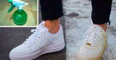 blanquear las zapatillas blancas Lavar Tenis Blancos b16dc2b824387