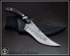 Persian Craine by Ryan W. Knives