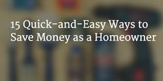 15 Ways to save money as a homeowner Ways To Save Money, Saving Money, Posts, Blog, Messages, Save My Money, Blogging, Frugal