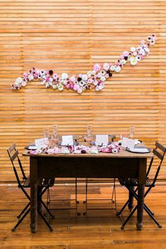 a blooming bridal shower (for four!) on domino.com