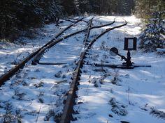 A Sunday morning on a forgotten railway line in Jaroszowiec