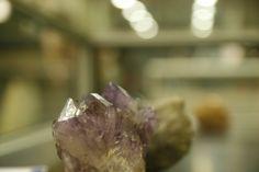 Ametista a l'exposició de minerals