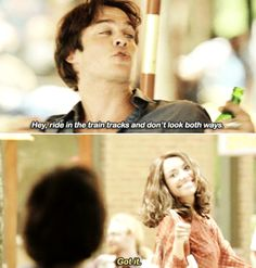 Vampire Diaries - Damon & Bonnie