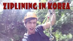 Herb Hillz just outside of #Daegu is a great place to go ziplining in #Korea!