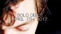 Harry Styles' solo debut is on April 7th, 2017!