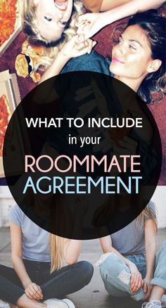 When you first move in with your college roommate (either in an apartment or in the residence halls) you may want -- or have -- to set up a roommate agreement or roommate contract. While not usually legally binding, roommate agreements are a great way to make sure that you and your college roommate