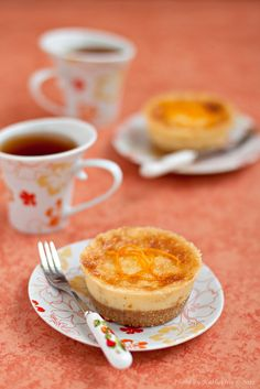 I love when creamy and zesty collide as they do in these cute little Orange Mini Cheesecakes.