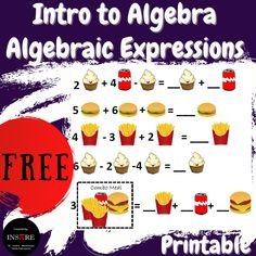 Algebra Activities, Teaching Resources, Secondary Resources, School Resources, Maths, Teaching Ideas, Simplifying Algebraic Expressions, Combining Like Terms, Elementary Math