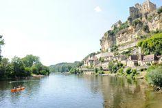 Ontdek de #Dordogne, #Frankrijk, tijdens een #kanotocht over de gelijknamige #rivier. #reizen #travel #travelbird #kano #water