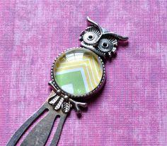Chevron Owl Bookmark!  So cute!