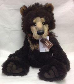 Brand New Charlie Bears - Selwyn Limited Edition Teddy Bear - SJ5178