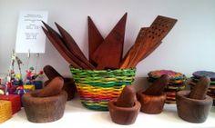 Morteros, espumaderas y tarteras hechas a mano en madera. Elementos Argentinos Surtidos.