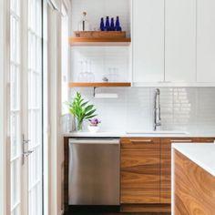 Kitchen Slab, Walnut Kitchen Cabinets, Ikea Cabinets, Kitchen Flooring, Kitchen Countertops, New Kitchen, Kitchen Design, Kitchen Decor, Kitchen Ideas