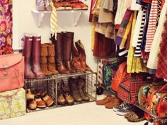 small closet organizing tips