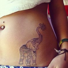 thai elephant tattoos - Google Search