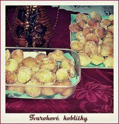 Tvarohové koblížky Czech Recipes, Ethnic Recipes, Sweet Recipes, Muffin, Cooking, Breakfast, Food, Kitchen, Morning Coffee