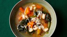 Slow-Cooker White Bean Soup Since raw beans can contain toxins, the FDA suggests soaking them overnight and boiling them before slow-cooking. Healthy Slow Cooker, Slow Cooker Soup, Slow Cooker Chicken, Slow Cooker Recipes, Soup Recipes, Cooking Recipes, Easy Recipes, Healthy Recipes, Ham And Beans