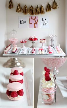 Valentine's Day: Dessert Table