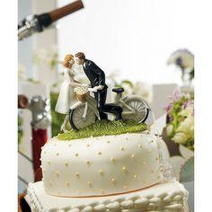Figura de novios Bicicleta