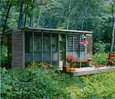 make from a shipping container