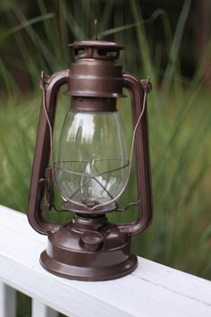 Electric Hurricane Lantern BRONZE Very Rustic Rustic Table Lamps, Rustic Lanterns, Hurricane Lanterns, Light Bulb Wattage, Bronze, Candelabra Bulbs, Glass Globe, Rustic Charm, Cool Lighting