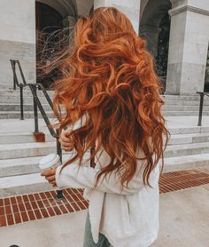 27 Best Hair Masks for Every Hair Type: How to Use Hair Mask - curly hair - Hair Styles Best Hair Mask, Diy Hair Mask, Cheveux Oranges, Curly Hair Styles, Natural Hair Styles, Long Red Hair, Brown Hair, Short Hair, Haircuts For Fine Hair